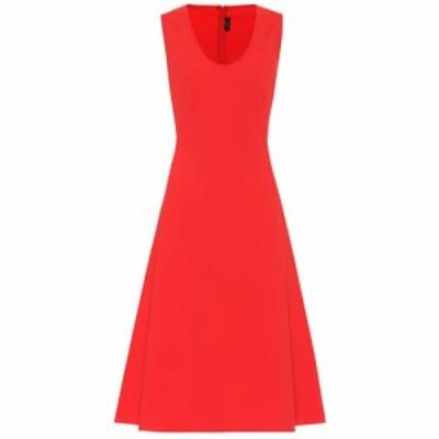 ジョゼフ Joseph レディース ワンピース ミドル丈 ワンピース・ドレス Lina stretch knit midi dress tomato