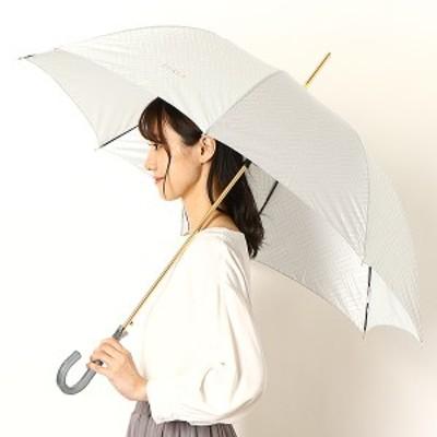 フルラ(雑貨)(FURLA)/雨傘(ジャンプ傘)【耐風/グラス骨/UV加工/日本製】モノグラム(婦人/レディース)