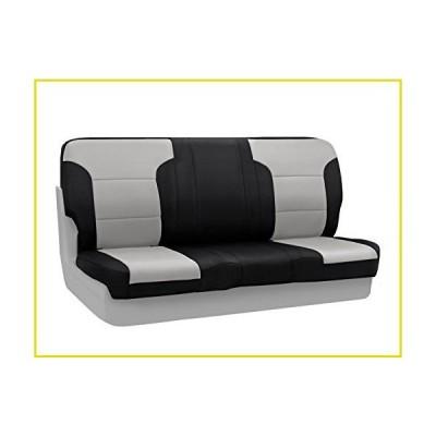 【新品 送料無料】Coverking Custom Fit Front Solid Bench Seat Cover for Select GMC Models - Neosupreme (Gray with Black Sides)