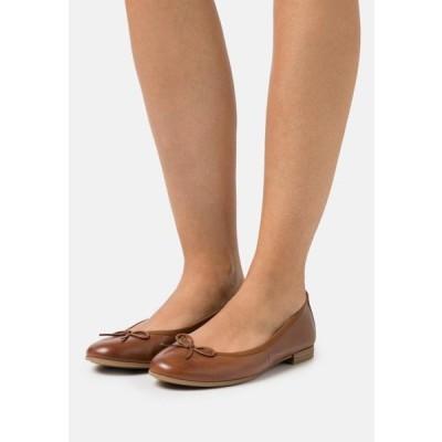 タマリス レディース 靴 シューズ Ballet pumps - cognac