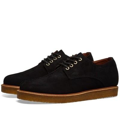 ワイルドバンチ Wild Bunch メンズ シューズ・靴 Seam Shoe Black