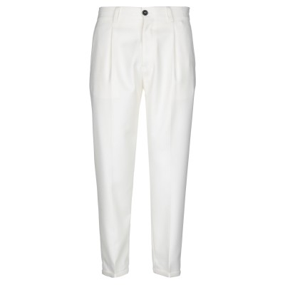 PT Torino パンツ ホワイト 32 ポリエステル 55% / ウール 45% パンツ