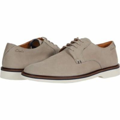 クラークス Clarks メンズ 革靴・ビジネスシューズ シューズ・靴 Malwood Plain Stone Nubuck