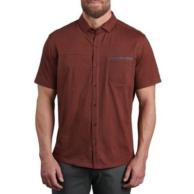 キュール シャツ メンズ トップス Innovatr Twill Shirt - Men's Redwood