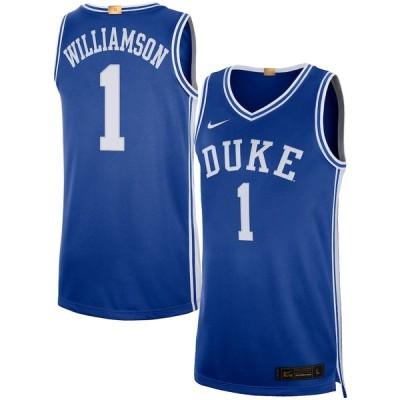 """メンズ ジャージー Zion Williamson """"Duke Blue Devils"""" Nike Alumni Player Limited Basketball Jersey - Royal"""