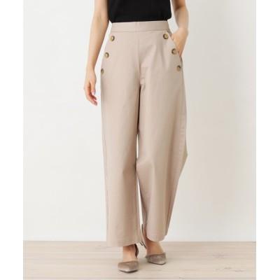OPAQUE.CLIP / 【洗える】チノワイドマリンパンツ WOMEN パンツ > パンツ