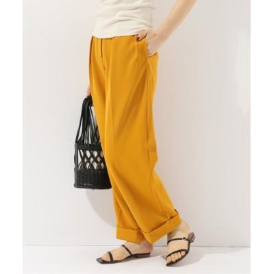 【ジョイントワークス】 twill tuck trousers レディース オレンジ 36 JOINT WORKS