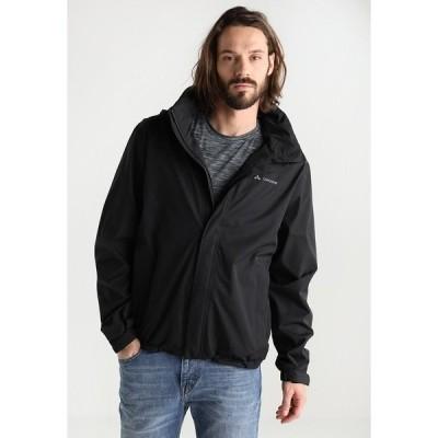 ファウデ ジャケット&ブルゾン メンズ アウター MENS ESCAPE LIGHT JACKET - Waterproof jacket - black