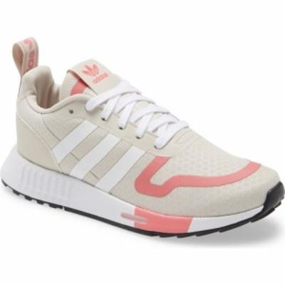 アディダス ADIDAS レディース スニーカー シューズ・靴 Multix Sneaker Alumina/Ftwr White/Hazy Rose