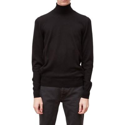 メゾン マルジェラ MAISON MARGIELA メンズ ニット・セーター トップス Elbow Patch Turtleneck Sweater Black