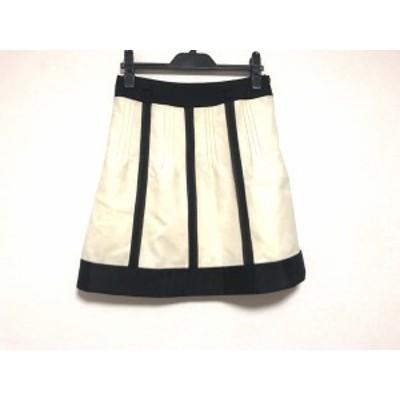 アプワイザーリッシェ Apuweiser-riche スカート サイズ2 M レディース アイボリー×黒【還元祭対象】【中古】