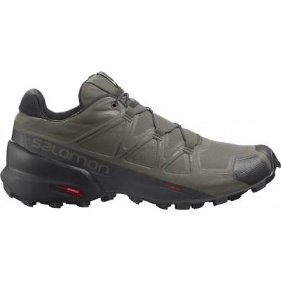 サロモン Salomon メンズ ランニング・ウォーキング シューズ・靴 Speedcross 5 Wide Trail Running Shoes Grape Leaf/Black/Phantom
