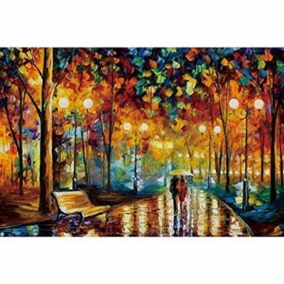 『送料無料!』InGooooD ジグソーパズル 1000ピース 雨の中を歩くと 絵画 大人 向け 木製パズル(6歳以上が適しています)