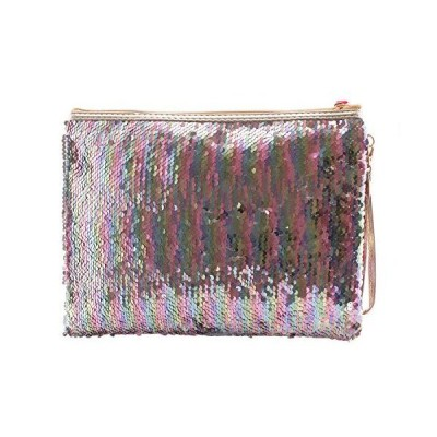 Flippy Sequin Women's Wristlet Wallet - Cute Womens Wristlet Wallets, Gift for Girls - Choice of Colors【並行輸入品】