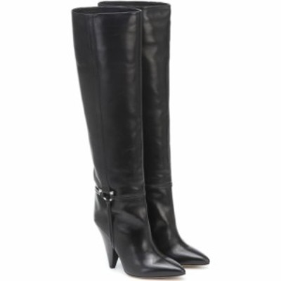 イザベル マラン Isabel Marant レディース ブーツ シューズ・靴 Lazu Leather Knee-High Boots Black