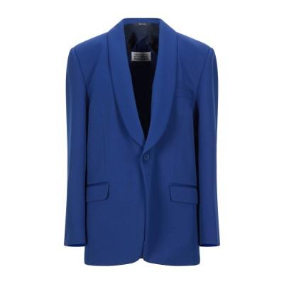 メゾン マルジェラ MAISON MARGIELA テーラードジャケット ブルー 38 ポリエステル 100% テーラードジャケット