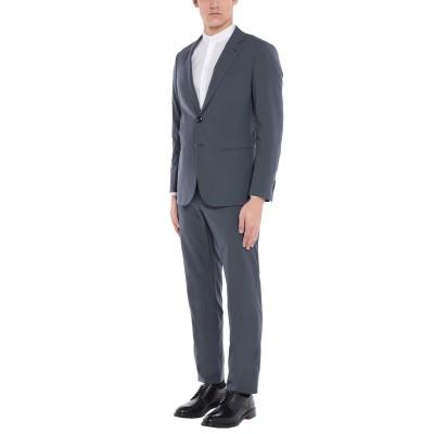 ジョルジオ アルマーニ GIORGIO ARMANI スーツ 鉛色 50 バージンウール 100% スーツ