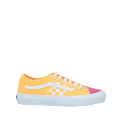 ヴァンズ VANS スニーカー&テニスシューズ(ローカット) オレンジ 8 革 / 紡績繊維 スニーカー&テニスシューズ(ローカット)