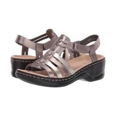 Clarks クラークス レディース 女性用 シューズ 靴 ヒール Lexi Bridge - Metallic Multi Leather