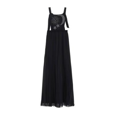 HISTORY REPEATS ロングワンピース&ドレス ブラック 42 ポリエステル 100% ロングワンピース&ドレス