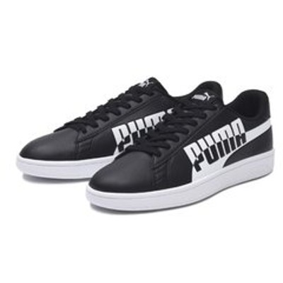 371135 PUMA SMASH V2 MAX 04BLACK/WHITE 596788-0002