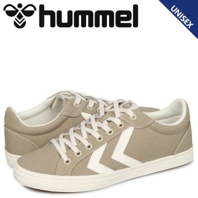 ヒュンメル hummel デュース コート スニーカー メンズ レディース DEUCE COURT ベージュ HM206425-9806