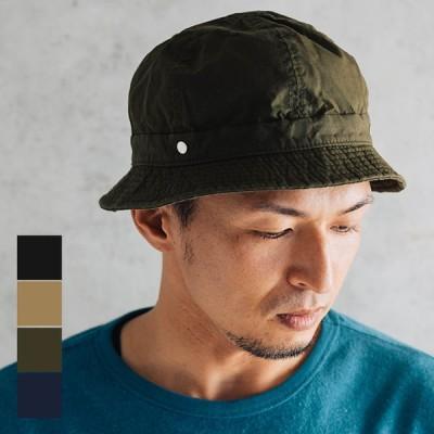 DECHO デコー SHALLOW KOME HAT シャローコメハット 帽子 メンズ レディース フリーサイズ カジュアル シンプル 無地 コットン