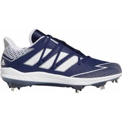 アディダス メンズ スニーカー シューズ adidas Men's Afterburner 7 Metal Baseball Cleats Navy/White