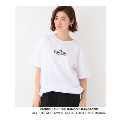 ベース コントロール BASE CONTROL 別注 KANGOL / カンゴール 半袖 Tシャツ (アイボリー)