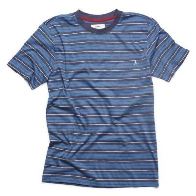 """ALTAMONT(アルタモント) Tシャツ """"FLAKEY CREW TEE"""" カラー NAVY"""