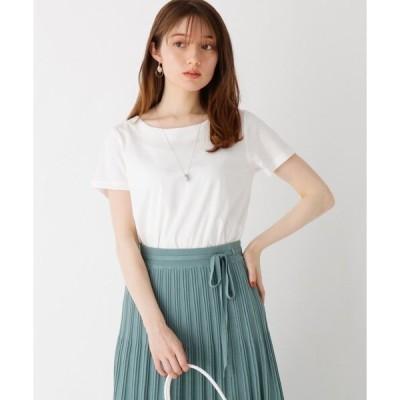 tシャツ Tシャツ マーセライズコットン見返しTシャツ【WEB限定サイズ】