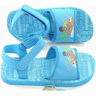 Nick  ベビー用品 シューズ Nick Jr. Go Diego Go! Boys Surfing Light Blue Sandals Sz. 2/3