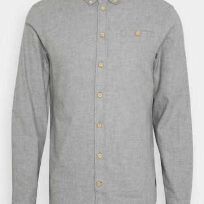 ブレンド メンズ シャツ Shirt - stone mix