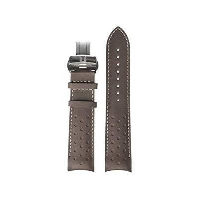 Tissot unisex-adult Leather Calfskin Watch Strap Brown T600041123