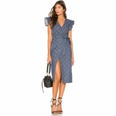 トゥラロサ Tularosa レディース ワンピース ワンピース・ドレス Page Dress Denim Blue