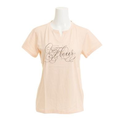 HUITIEMEウェアTシャツ 半袖 T/C KEY NECK HU18SCD864423SBTシャーベット