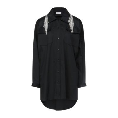 MAISON 9 Paris シャツ ブラック XS コットン 97% / ポリウレタン 3% シャツ
