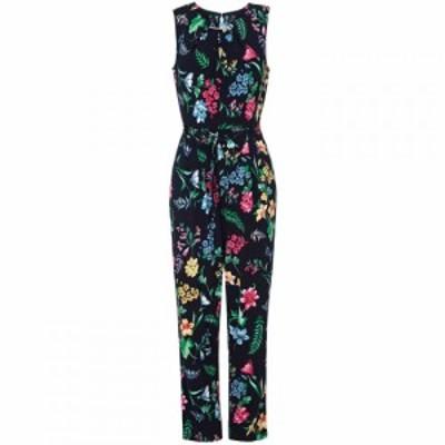 ユミ Yumi レディース オールインワン ワンピース・ドレス Tropical Printed Jersey Jumpsuit Black