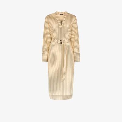 ジョゼフ Joseph レディース ワンピース ワンピース・ドレス Janis striped belted dress neutrals