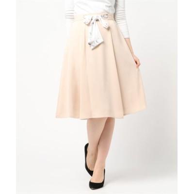 MEW'S REFINED CLOTHES / 2WAYベルトフレアスカート WOMEN スカート > スカート