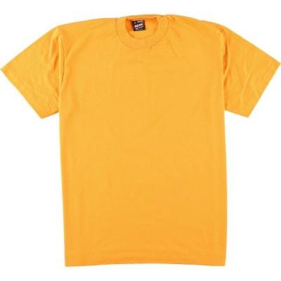 90年代 フルーツオブザルーム 無地Tシャツ USA製 L /eaa049639