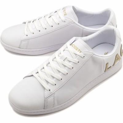ラコステ LACOSTE スニーカー カーナービー エヴォ M CARNABY EVO 0120 5 [SM00860-216 FW20] メンズ ローカットシューズ 靴 WHT/GLD ホ