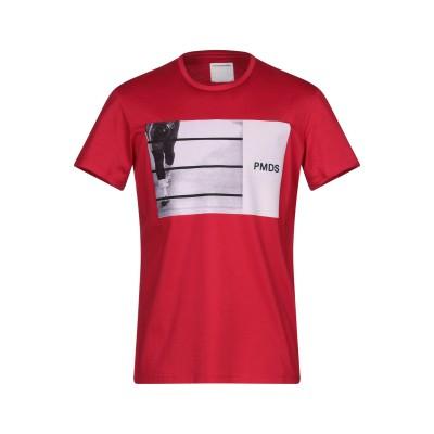 PMDS PREMIUM MOOD DENIM SUPERIOR T シャツ レッド S コットン 100% T シャツ