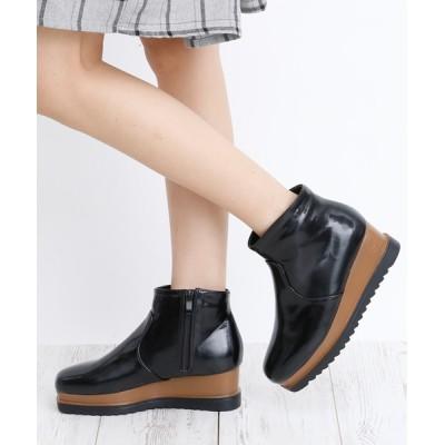 attagirl / ウェッジヒール ショートブーツ WOMEN シューズ > ブーツ