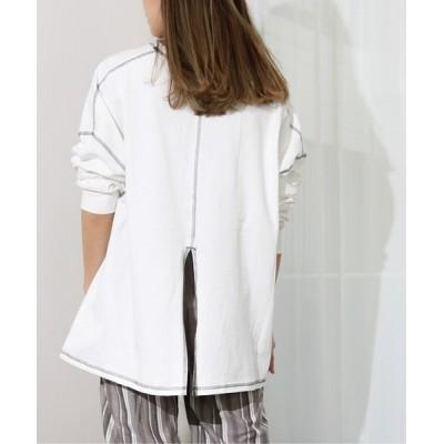 tシャツ Tシャツ Per sist ence/パーシエンス 配色ステッチロンTEE
