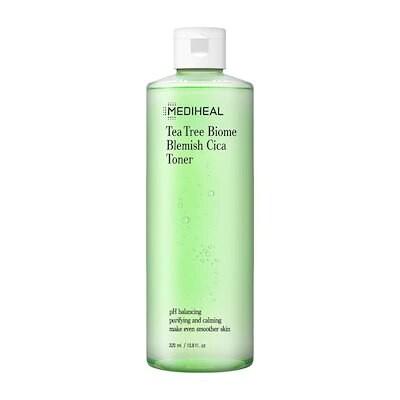 公式_よりきれいなお肌に弱酸性ふき取りトナー_ティーツリーバイオームブレミッシュシカトナー320ml