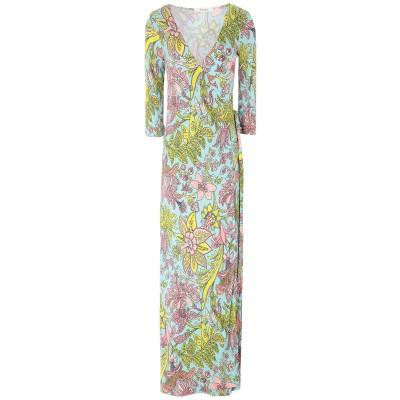 ジャッカ JUCCA ロングワンピース&ドレス スカイブルー 40 レーヨン 100% ロングワンピース&ドレス