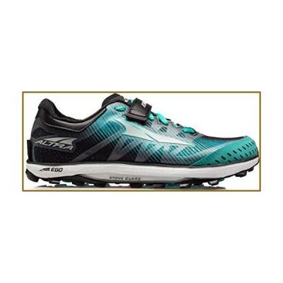 ALTRA Women's ALW1952G King MT 2 Trail Running Shoe, Teal/Black - 7 M US【並行輸入品】