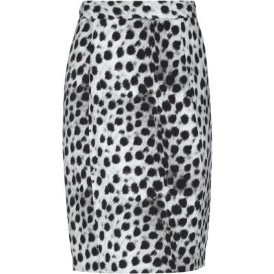 ブルマリン BLUMARINE ひざ丈スカート ライトグレー 40 レーヨン 97% / ポリウレタン 3% ひざ丈スカート