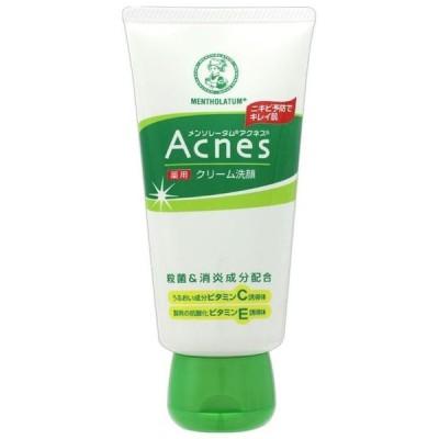 ロート製薬 アクネス 薬用クリーム洗顔 130G 洗顔料 (医薬部外品)